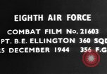 Image of Captain B E Ellington Germany, 1944, second 4 stock footage video 65675050378