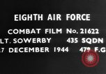 Image of dogfight Germany, 1944, second 3 stock footage video 65675050380