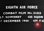 Image of dogfight Germany, 1944, second 4 stock footage video 65675050380