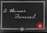 Image of funeral procession China, 1938, second 2 stock footage video 65675050392