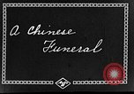 Image of funeral procession China, 1938, second 5 stock footage video 65675050392