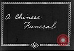 Image of funeral procession China, 1938, second 6 stock footage video 65675050392