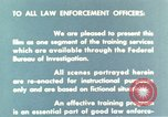 Image of car theft United States USA, 1970, second 9 stock footage video 65675050403