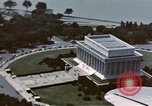 Image of Lincoln Memorial Washington DC USA, 1954, second 10 stock footage video 65675050413