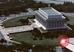 Image of Lincoln Memorial Washington DC USA, 1954, second 11 stock footage video 65675050413