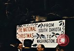 Image of National Christmas tree Washington DC USA, 1970, second 6 stock footage video 65675050416