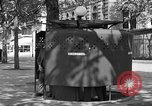 Image of street urinal Paris France, 1956, second 3 stock footage video 65675050418