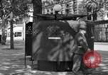 Image of street urinal Paris France, 1956, second 7 stock footage video 65675050418