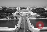 Image of Palace Chaillot Paris France, 1956, second 4 stock footage video 65675050424