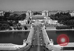 Image of Palace Chaillot Paris France, 1956, second 6 stock footage video 65675050424
