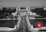 Image of Palace Chaillot Paris France, 1956, second 9 stock footage video 65675050424