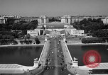 Image of Palace Chaillot Paris France, 1956, second 10 stock footage video 65675050424