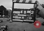 Image of Champs Elysees Paris France, 1956, second 1 stock footage video 65675050425
