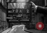Image of backstreet alley Paris France, 1956, second 3 stock footage video 65675050427