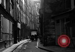 Image of backstreet alley Paris France, 1956, second 5 stock footage video 65675050427