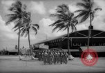 Image of flag raising exercise Guam, 1939, second 1 stock footage video 65675050438