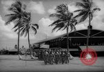 Image of flag raising exercise Guam, 1939, second 2 stock footage video 65675050438