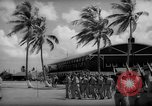 Image of flag raising exercise Guam, 1939, second 3 stock footage video 65675050438