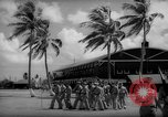 Image of flag raising exercise Guam, 1939, second 4 stock footage video 65675050438