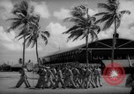 Image of flag raising exercise Guam, 1939, second 5 stock footage video 65675050438