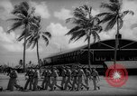 Image of flag raising exercise Guam, 1939, second 7 stock footage video 65675050438