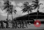 Image of flag raising exercise Guam, 1939, second 8 stock footage video 65675050438