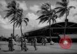 Image of flag raising exercise Guam, 1939, second 9 stock footage video 65675050438