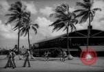 Image of flag raising exercise Guam, 1939, second 10 stock footage video 65675050438