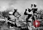 Image of flamethrowers Mariana Islands, 1944, second 1 stock footage video 65675050444