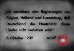 Image of German invasion of Belgium Holland and Luxembourg Belgium, 1940, second 2 stock footage video 65675050460