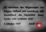 Image of German invasion of Belgium Holland and Luxembourg Belgium, 1940, second 3 stock footage video 65675050460