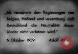 Image of German invasion of Belgium Holland and Luxembourg Belgium, 1940, second 4 stock footage video 65675050460