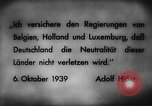 Image of German invasion of Belgium Holland and Luxembourg Belgium, 1940, second 5 stock footage video 65675050460