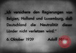 Image of German invasion of Belgium Holland and Luxembourg Belgium, 1940, second 8 stock footage video 65675050460