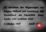 Image of German invasion of Belgium Holland and Luxembourg Belgium, 1940, second 9 stock footage video 65675050460