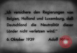 Image of German invasion of Belgium Holland and Luxembourg Belgium, 1940, second 10 stock footage video 65675050460