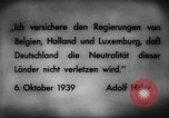 Image of German invasion of Belgium Holland and Luxembourg Belgium, 1940, second 11 stock footage video 65675050460