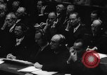 Image of Nazi criminals Nuremberg Germany, 1946, second 10 stock footage video 65675050465