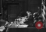 Image of Nazi war criminals Nuremberg Germany, 1946, second 6 stock footage video 65675050467