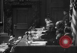 Image of Nazi war criminals Nuremberg Germany, 1946, second 8 stock footage video 65675050467