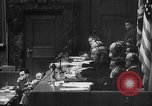 Image of Nazi war criminals Nuremberg Germany, 1946, second 9 stock footage video 65675050467