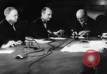 Image of verdict of Nuremberg Trials Nuremberg Germany, 1946, second 7 stock footage video 65675050468