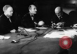 Image of verdict of Nuremberg Trials Nuremberg Germany, 1946, second 9 stock footage video 65675050468