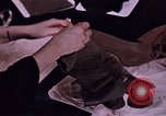 Image of nylon stockings North Carolina United States USA, 1950, second 6 stock footage video 65675050477