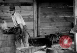 Image of Preparing an oil drilling bit and drilling for oil United States USA, 1925, second 12 stock footage video 65675050482