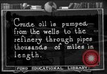 Image of oil pipe lines United States USA, 1925, second 1 stock footage video 65675050484