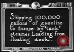 Image of oil tanker United States USA, 1925, second 3 stock footage video 65675050487