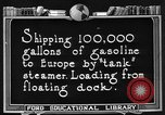 Image of oil tanker United States USA, 1925, second 4 stock footage video 65675050487