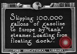 Image of oil tanker United States USA, 1925, second 5 stock footage video 65675050487
