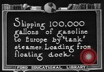 Image of oil tanker United States USA, 1925, second 7 stock footage video 65675050487